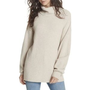 Free People Softly Structured Knit Tunic size large
